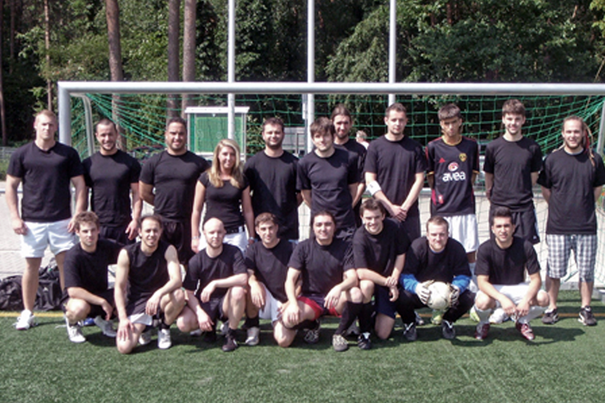 Fussballcup 2009 Team Rahel-Varnhagen-Kolleg Hagen