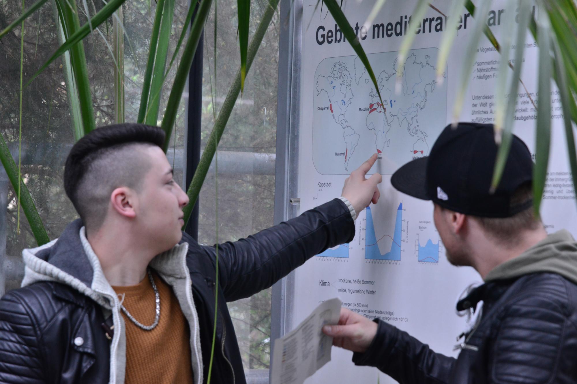 Exkursion Botanischer Garten der Ruhr-Universität Bochum 1