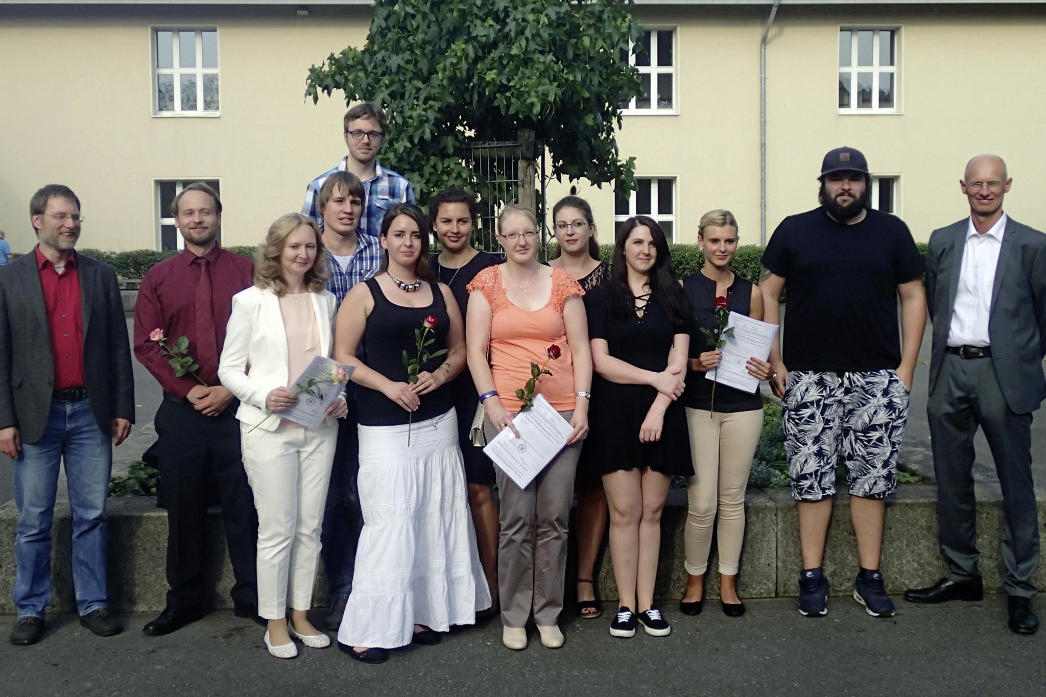 Abiturienten des Abendbereichs Abitur-Online