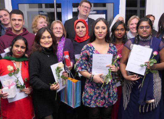 Schülerinnen und Schüler mit Mittlerem Bidlungsabschluss Nachmittagsbereich Wintersemester 2018/2019