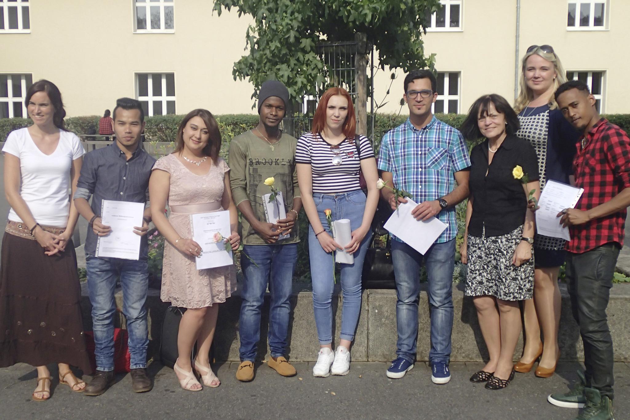 Fachoberschulreife Sommersemester 2017 ARS4a - Deutschförderklasse
