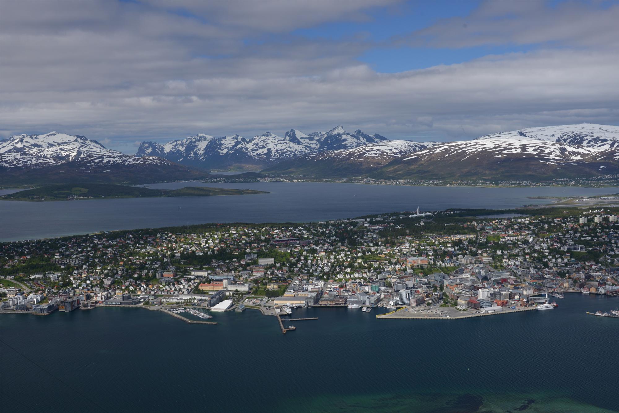 Tromsö Juni 2016 Balsfjord