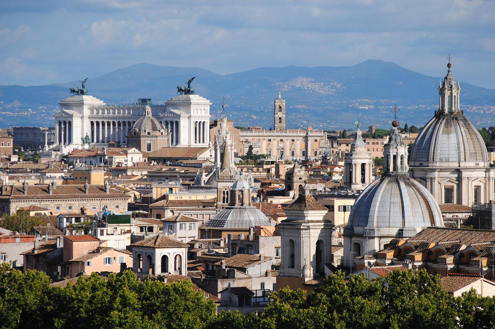 Klassenfahrt nach Rom, August 2017