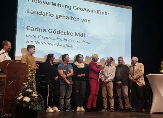 Preisverleihung Geoawardruhr 2018